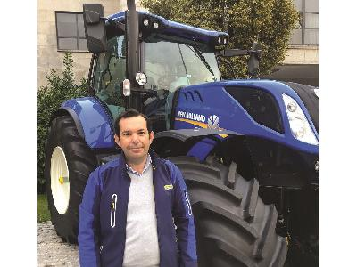 Alfonso Lorenzi, nuevo director de marketing New Holland España y Portugal.